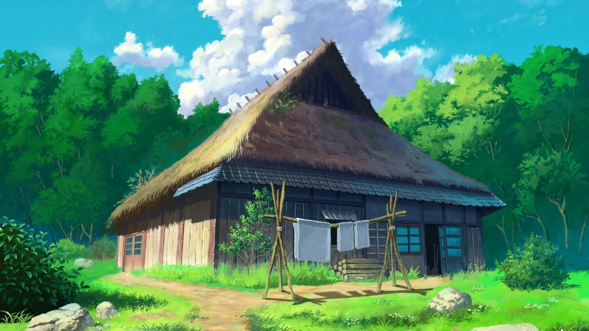 Village House Art Pic