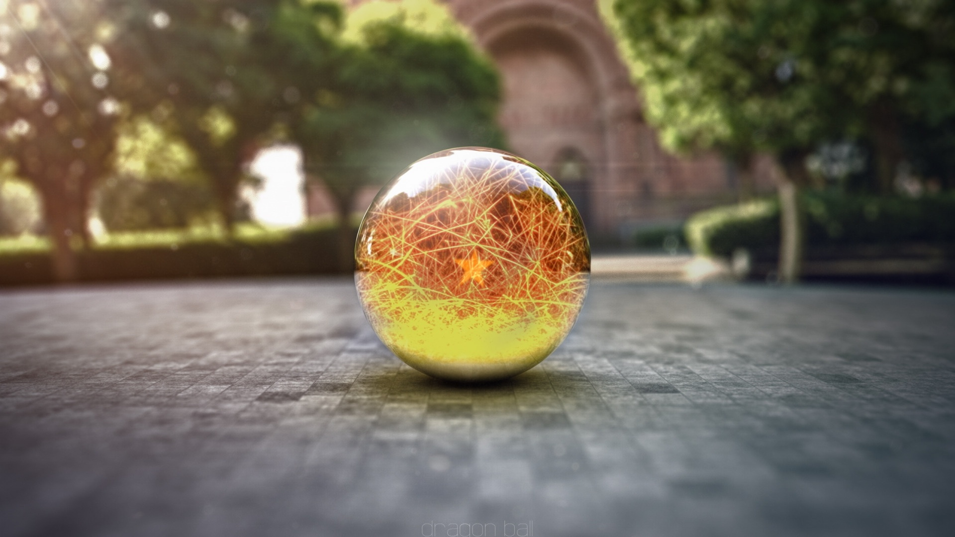 Ball Glass wallpaper for computer