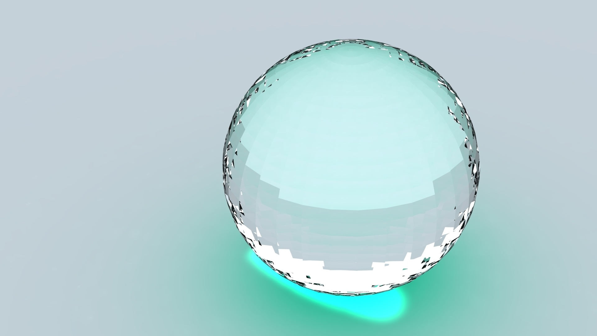 Ball Glass wallpaper for pc