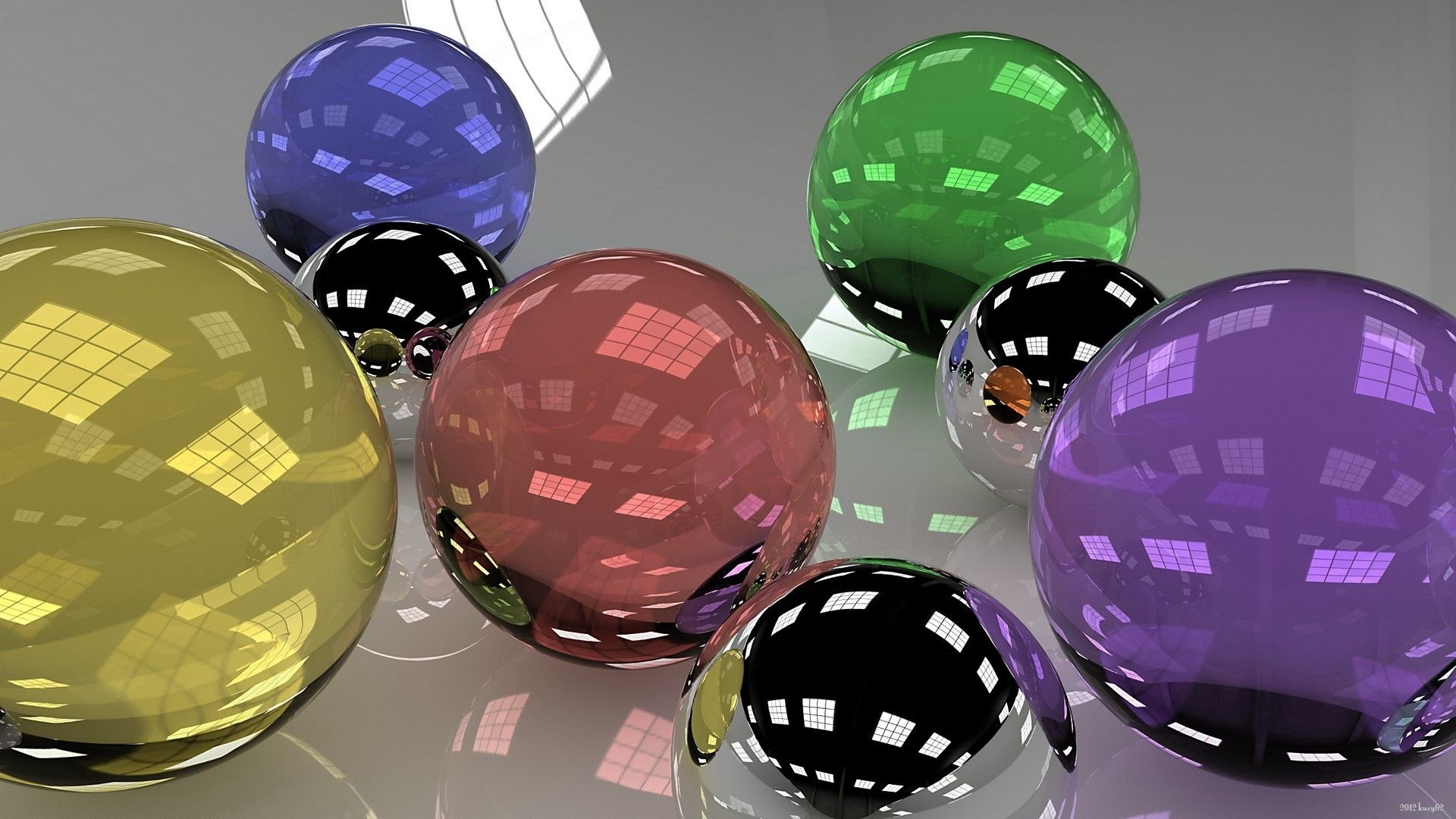 Ball Glass wallpaper for desktop