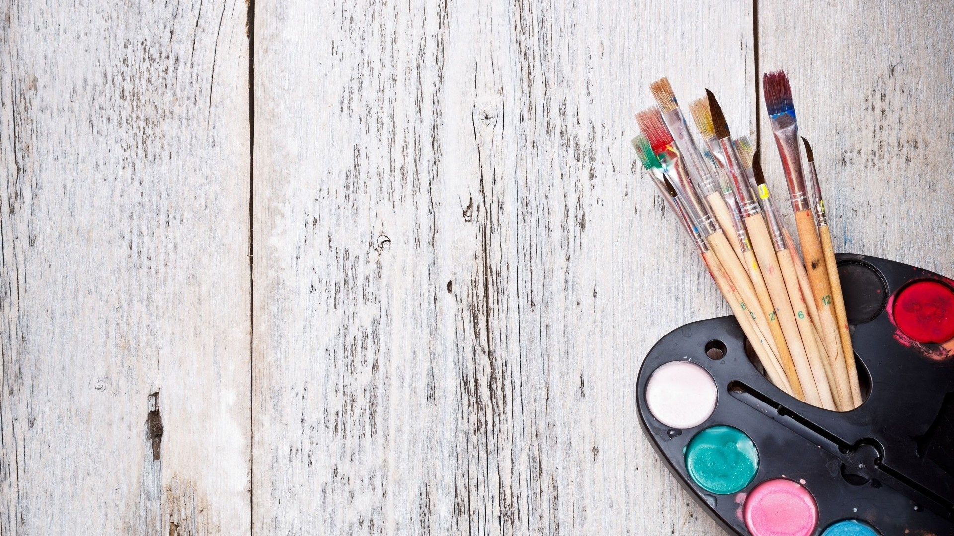 Brushes And Paint Image