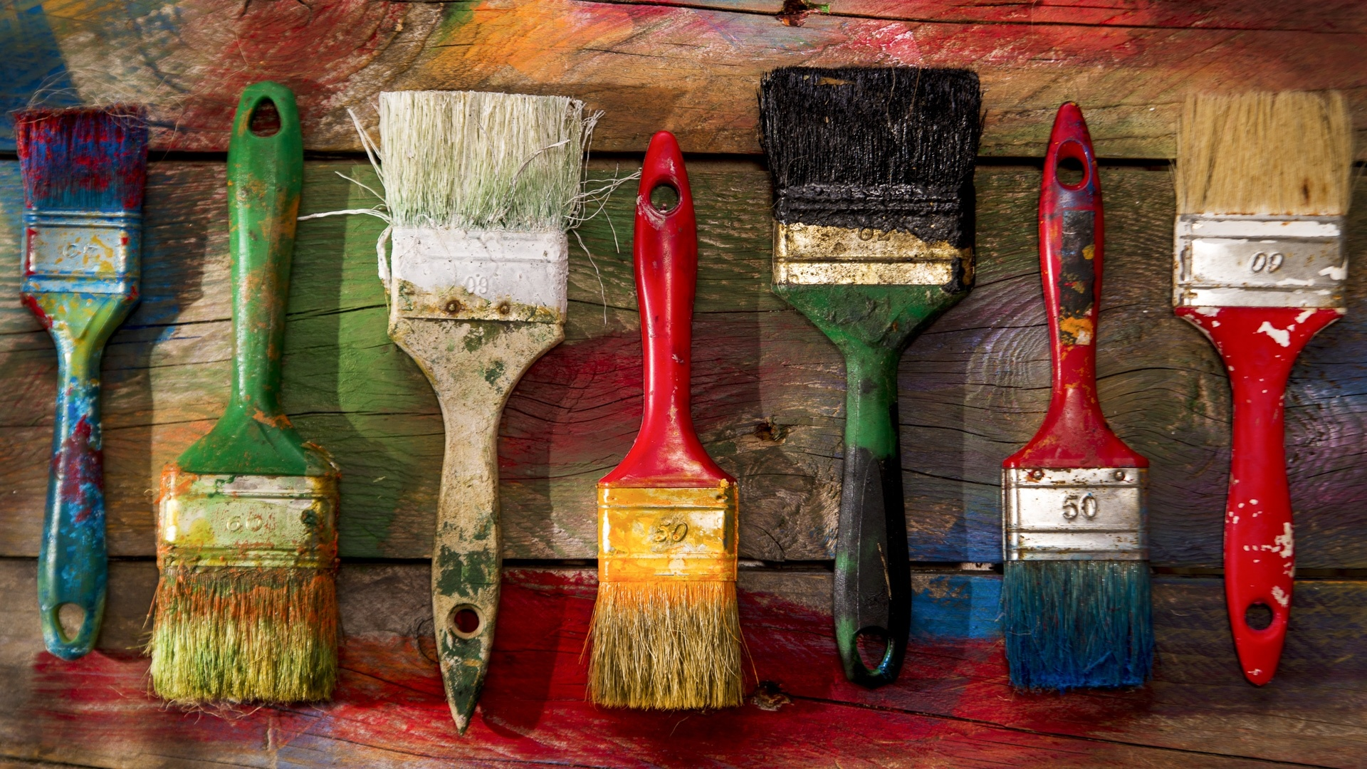 Brushes And Paint Picture