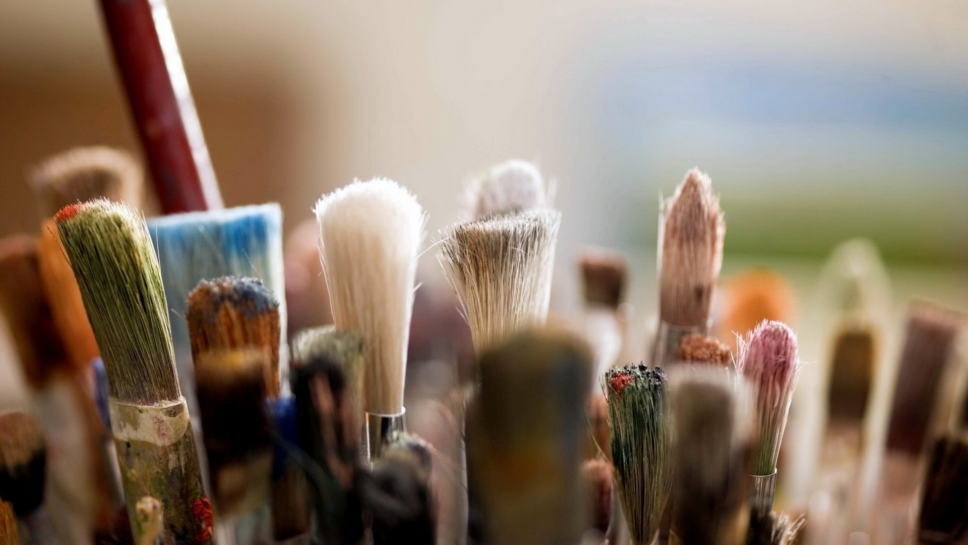 Brushes And Paint wallpaper for computer