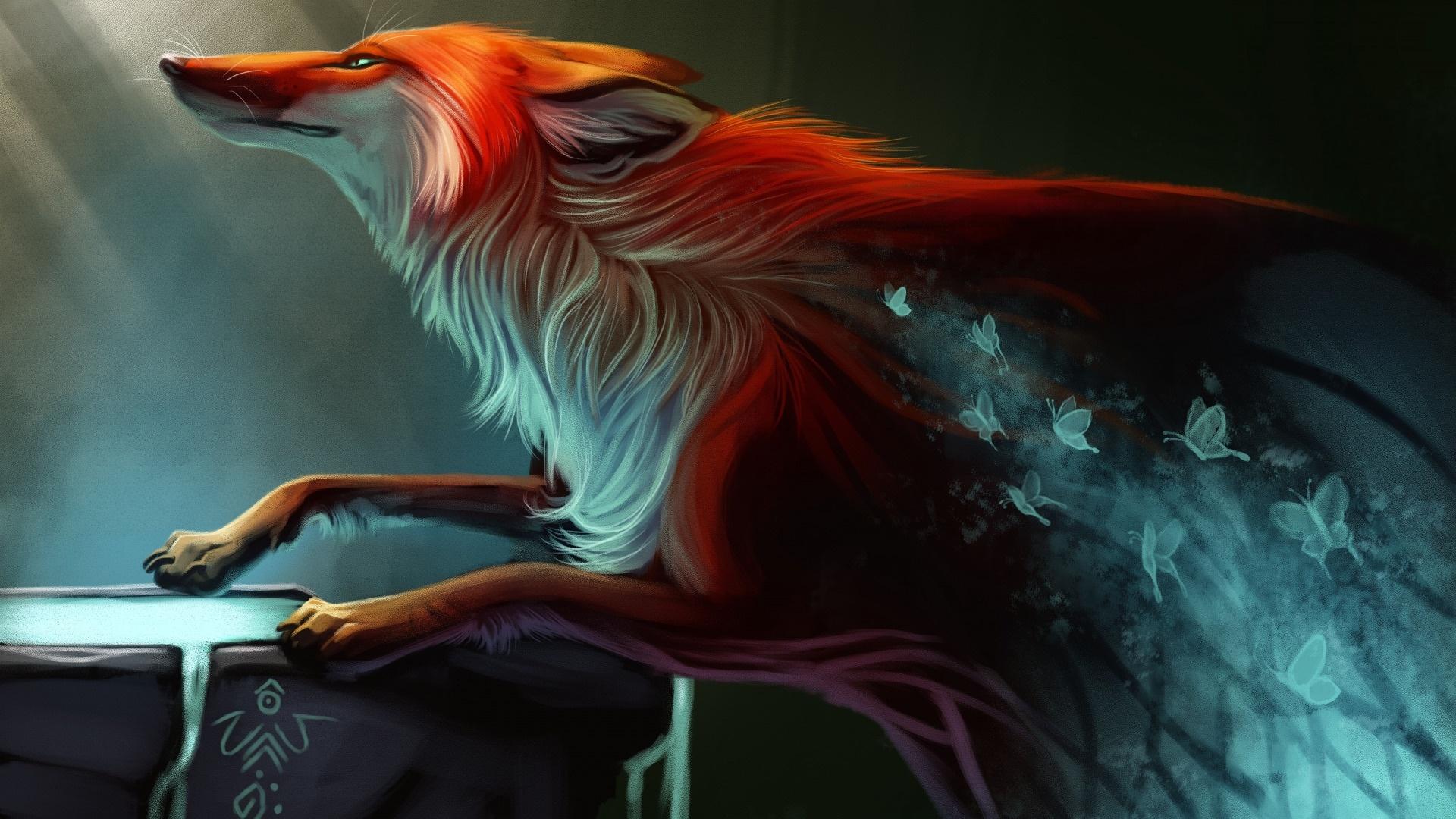 Fox Art Image
