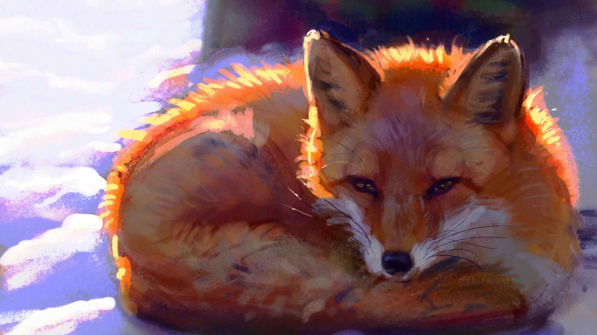 Fox Art Picture