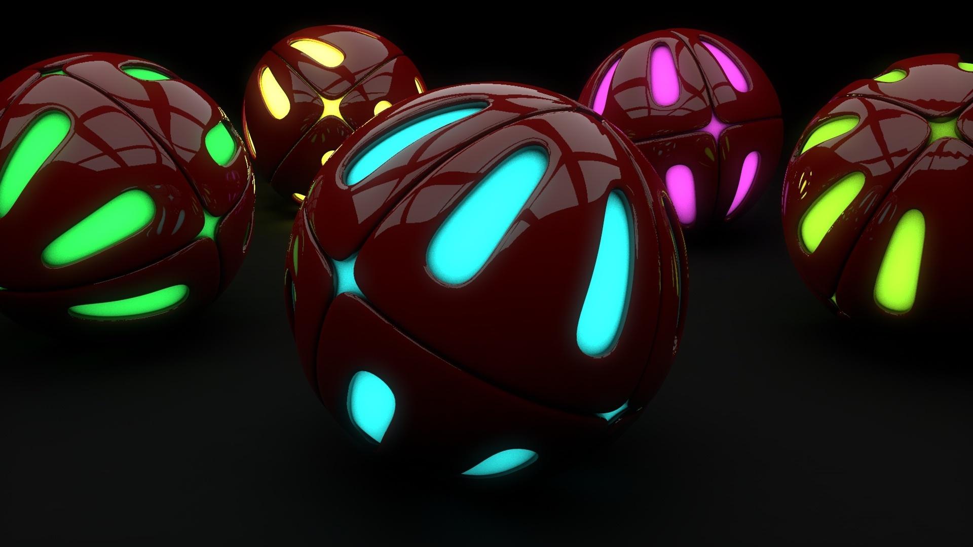 Neon Balloon Image