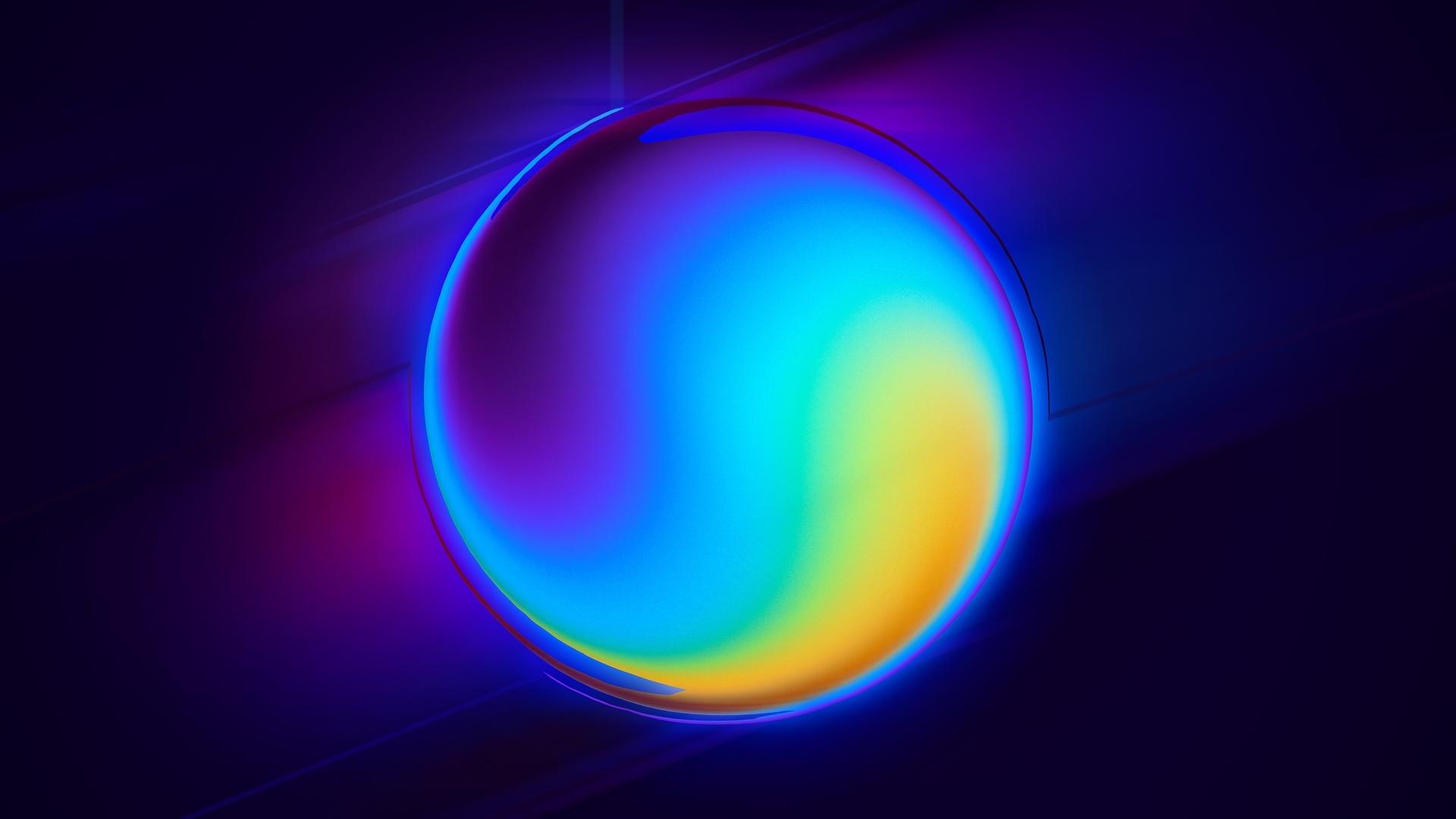 Neon Balloon Picture