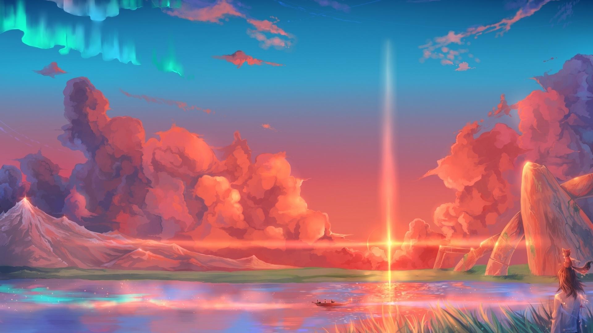 Paradise Art Background