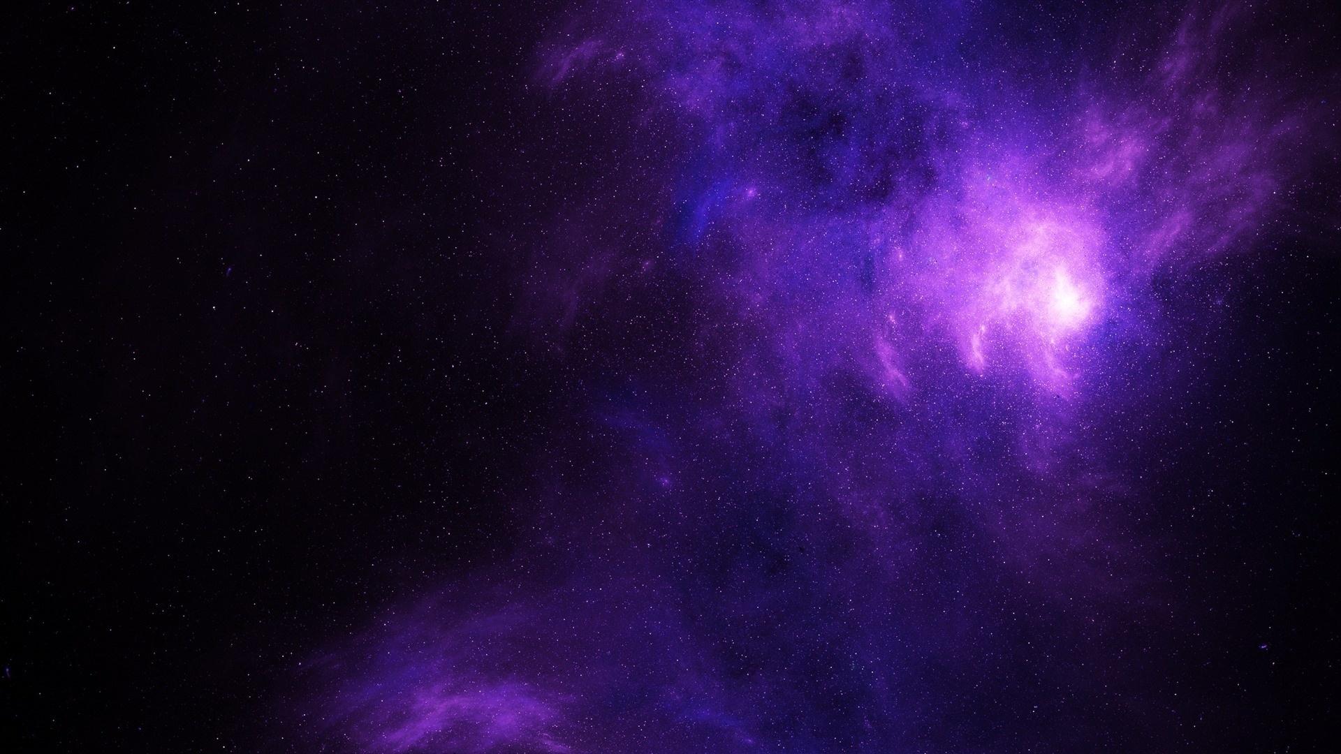 Purple Space wallpaper for desktop