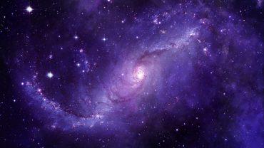 Purple Space computer wallpaper