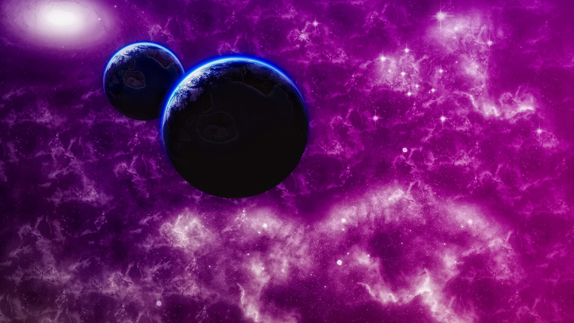 Purple Space wallpaper for pc