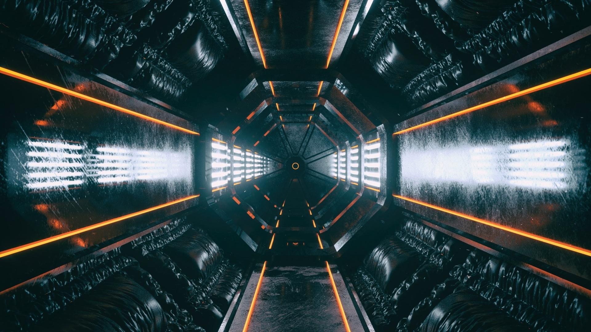 Space Tunnel wallpaper for desktop