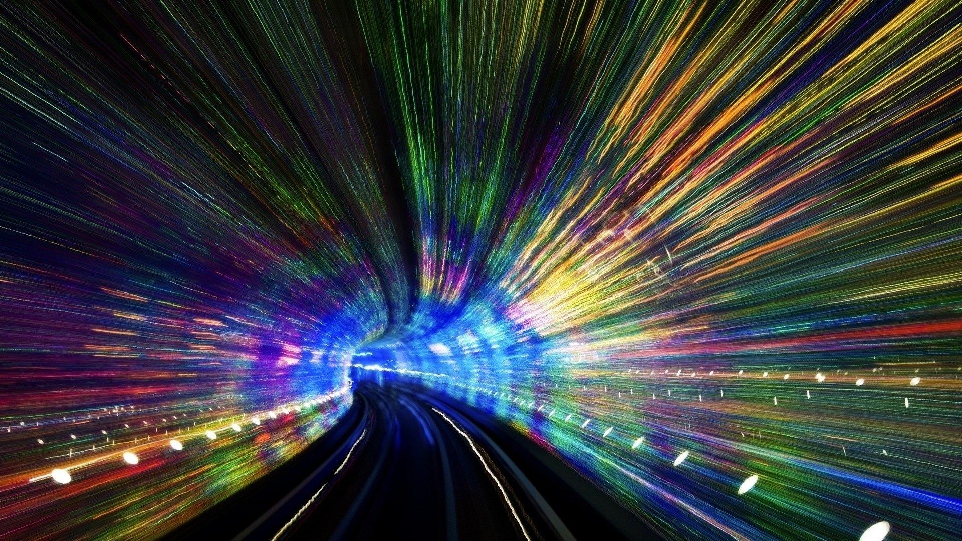 Space Tunnel HD Wallpaper