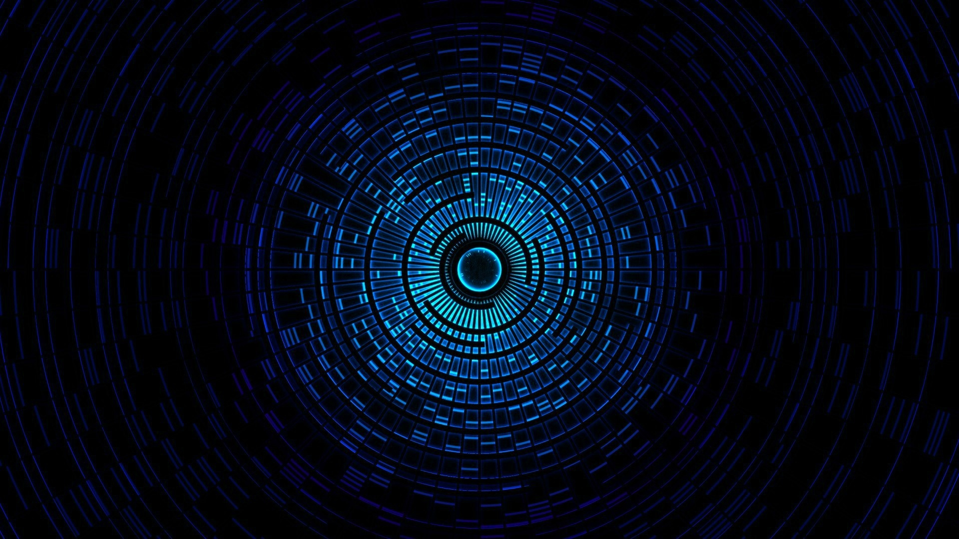 Space Tunnel wallpaper for computer