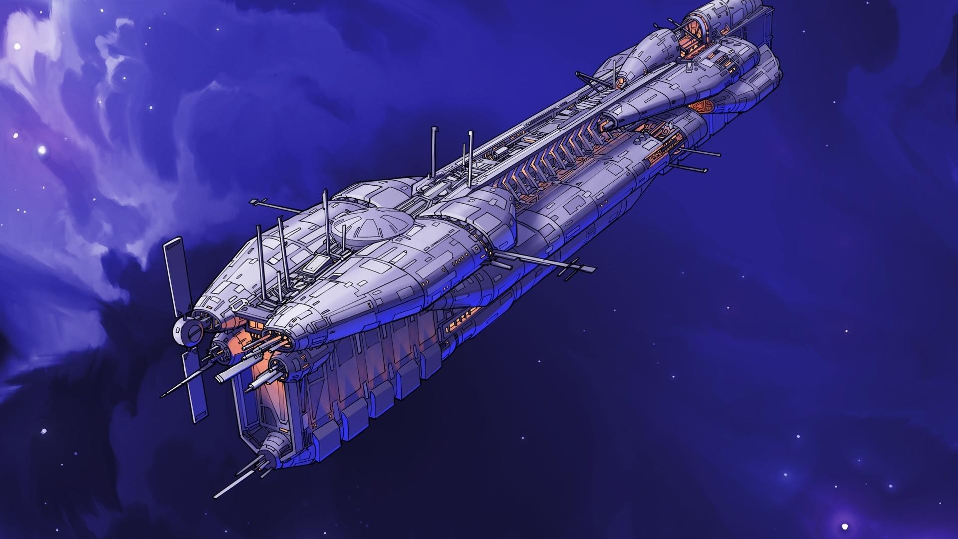 Spaceships Art Pic