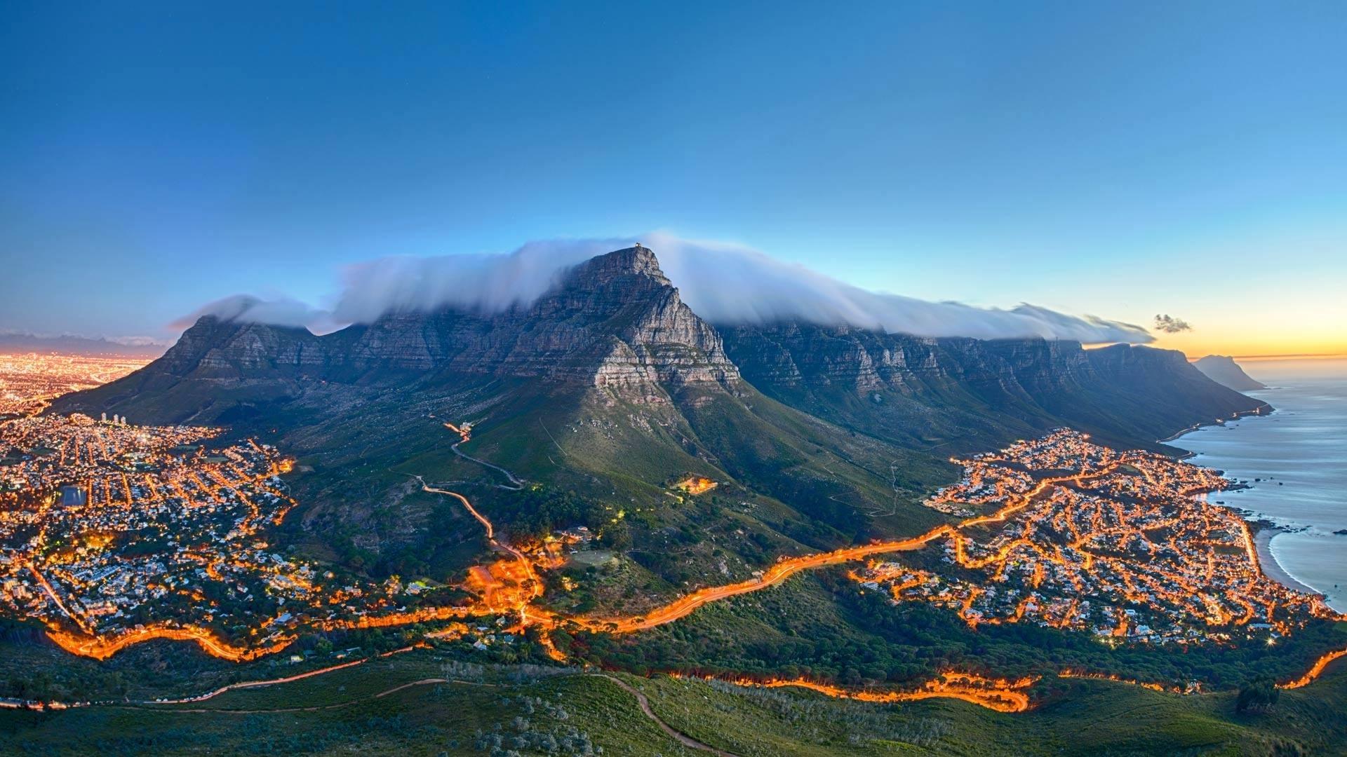 Table Mountain Desktop Wallpaper