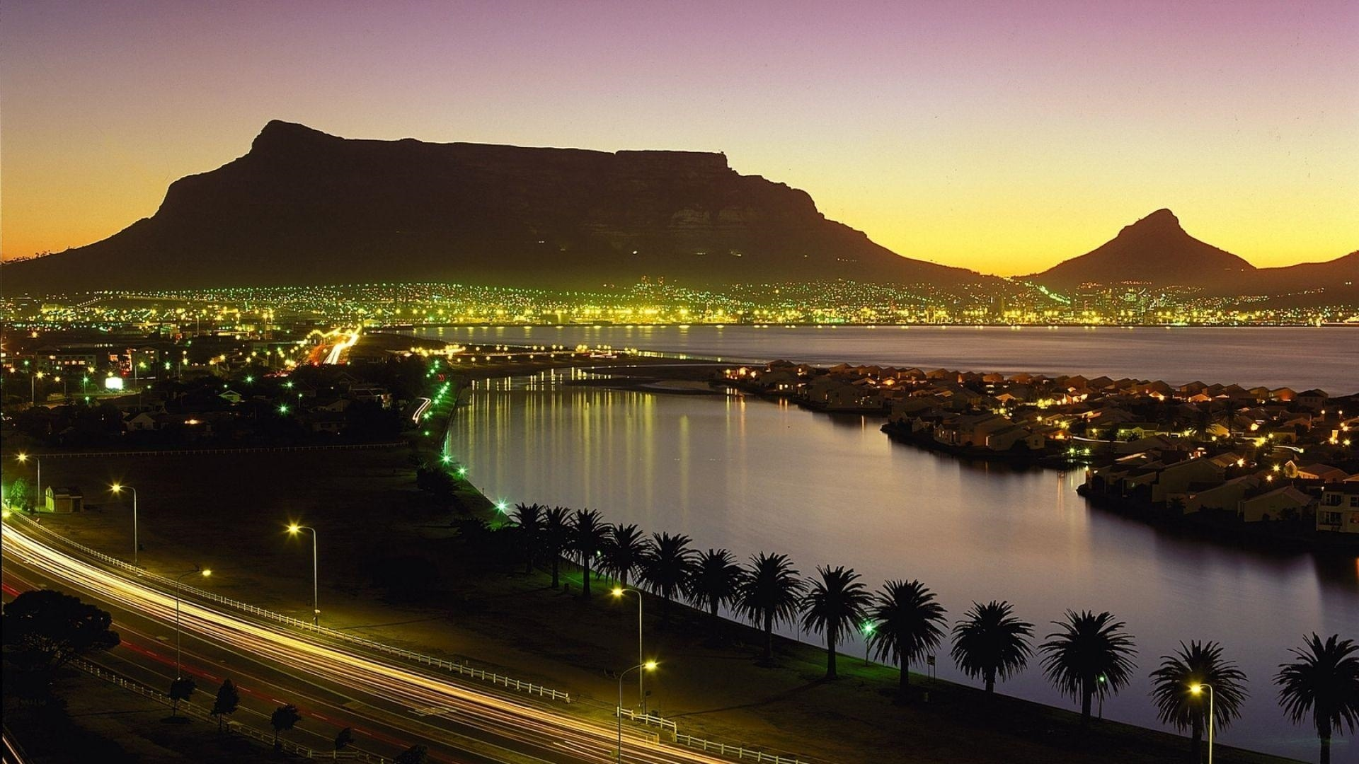 Table Mountain Background