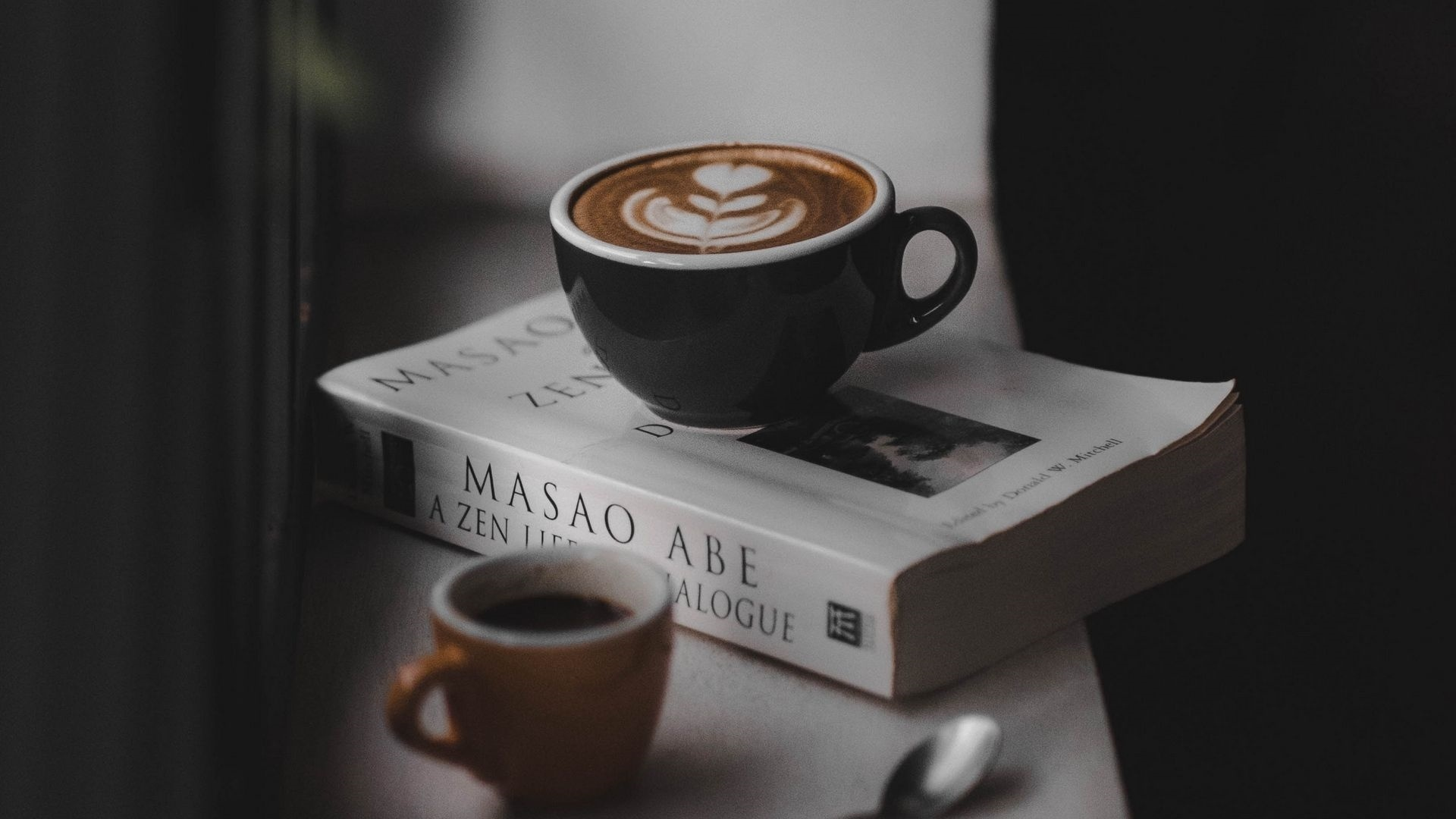 Book And Coffee Wallpaper
