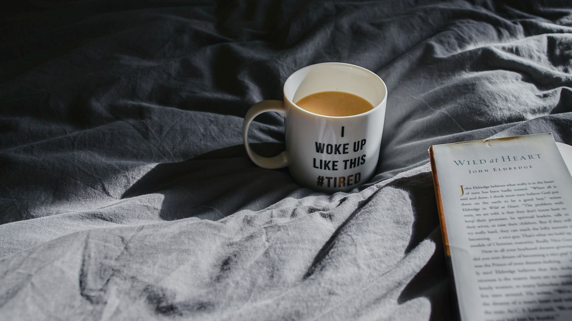 Book And Coffee HD Wallpaper