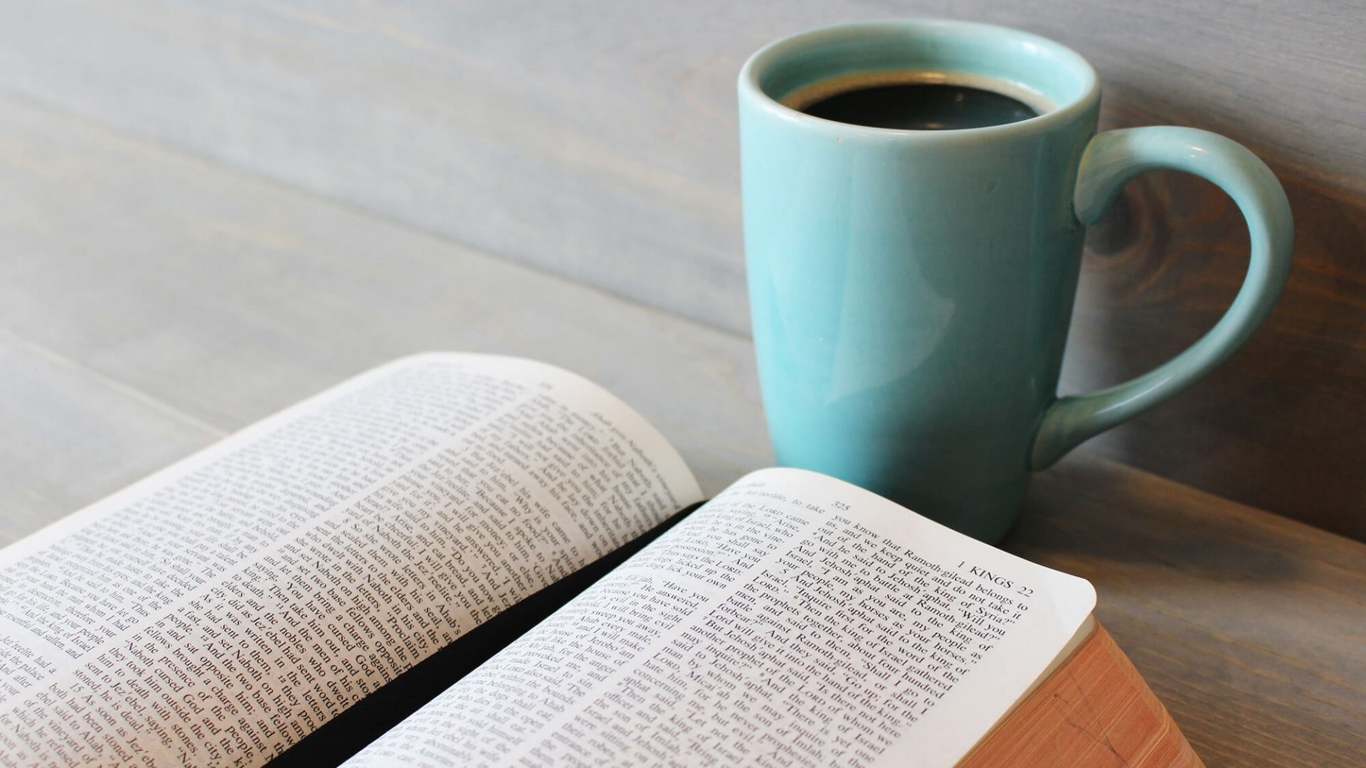 Book And Coffee Pic