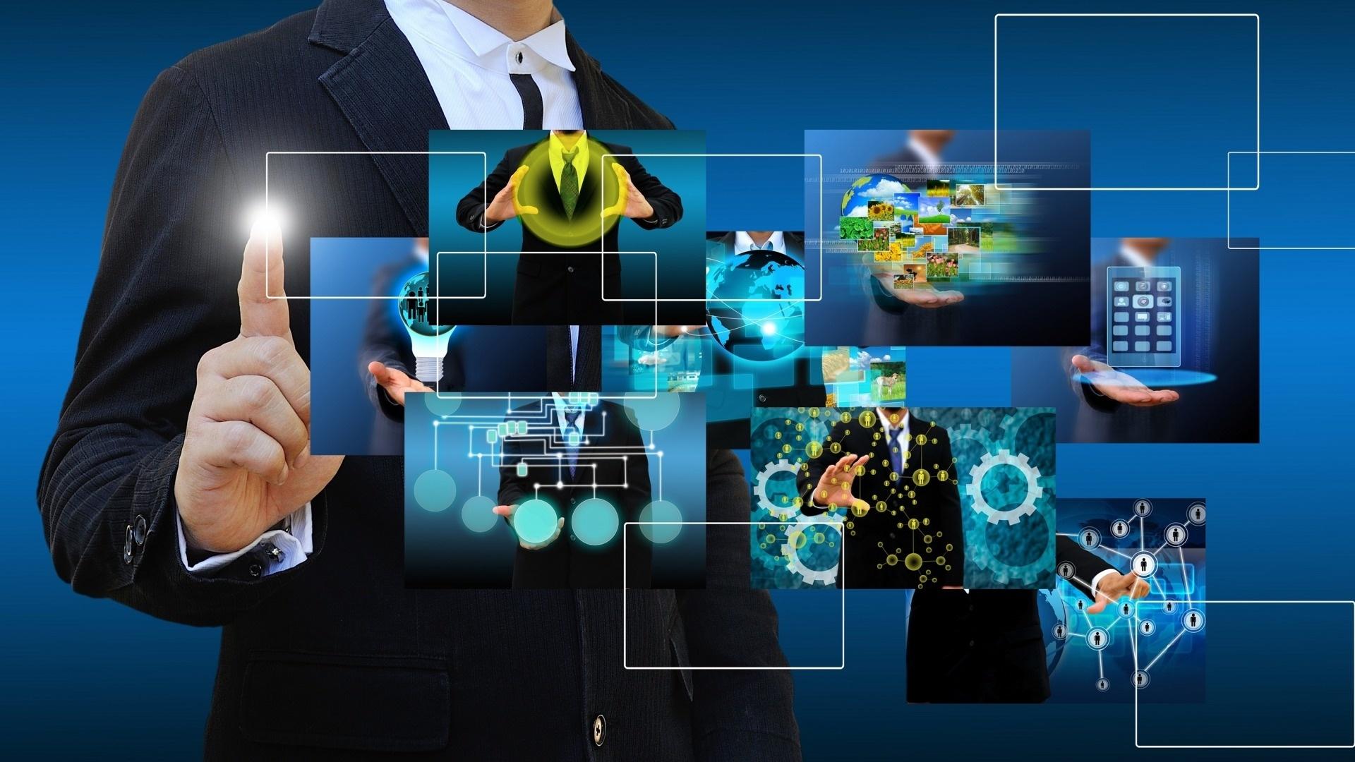 Communication computer wallpaper