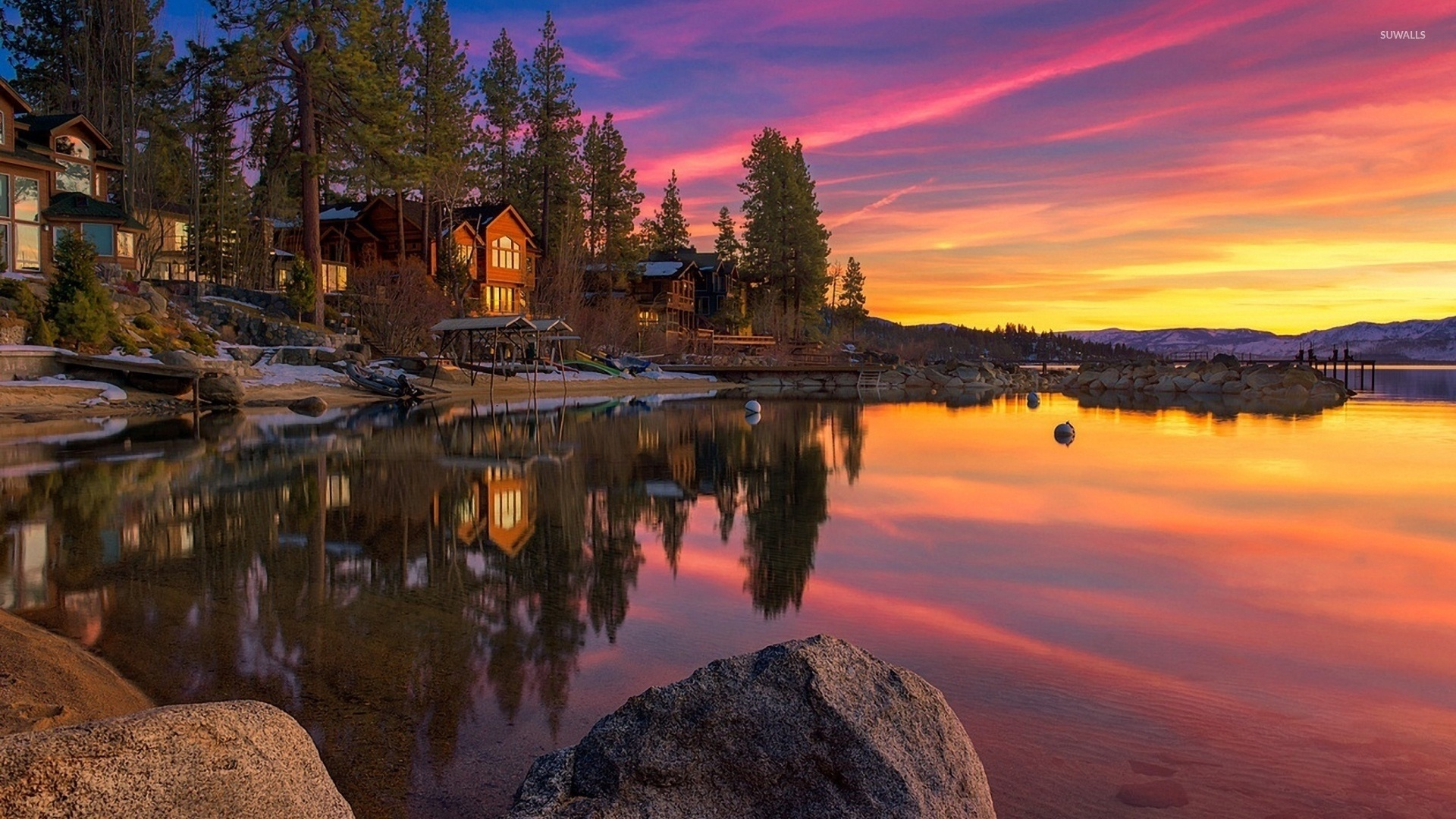 Lake Tahoe computer wallpaper