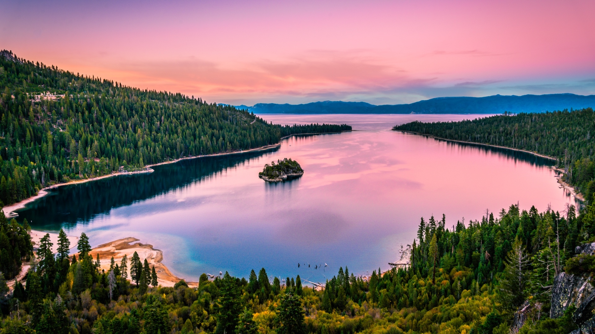 Lake Tahoe Wallpaper theme
