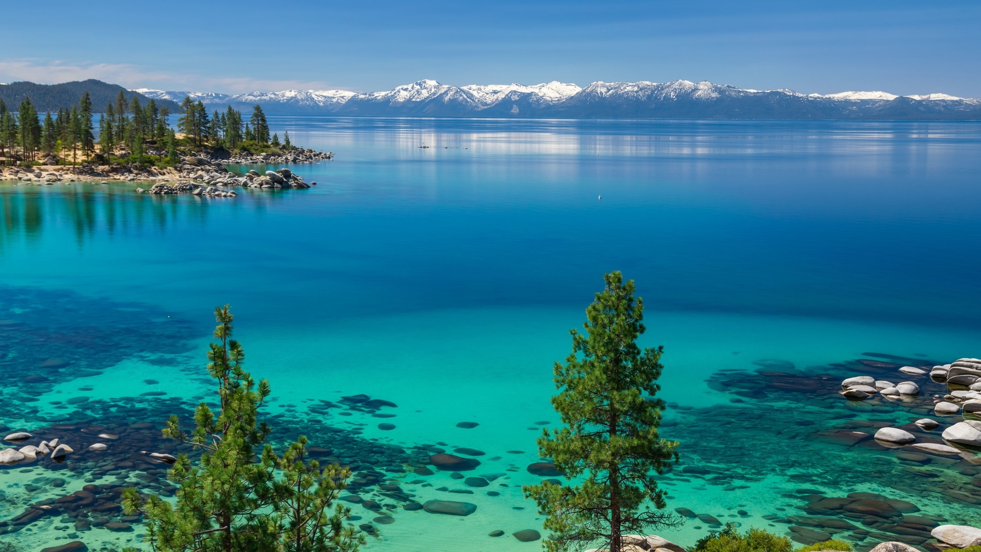 Lake Tahoe Background