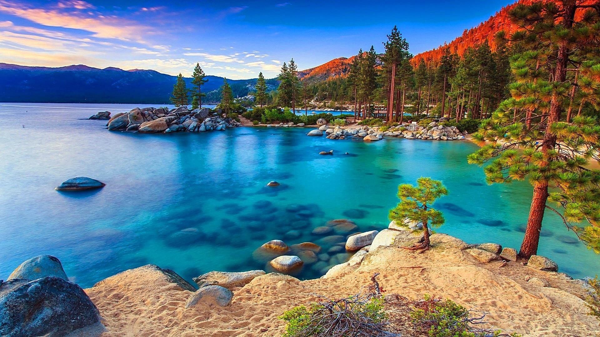 Lake Tahoe wallpaper for computer