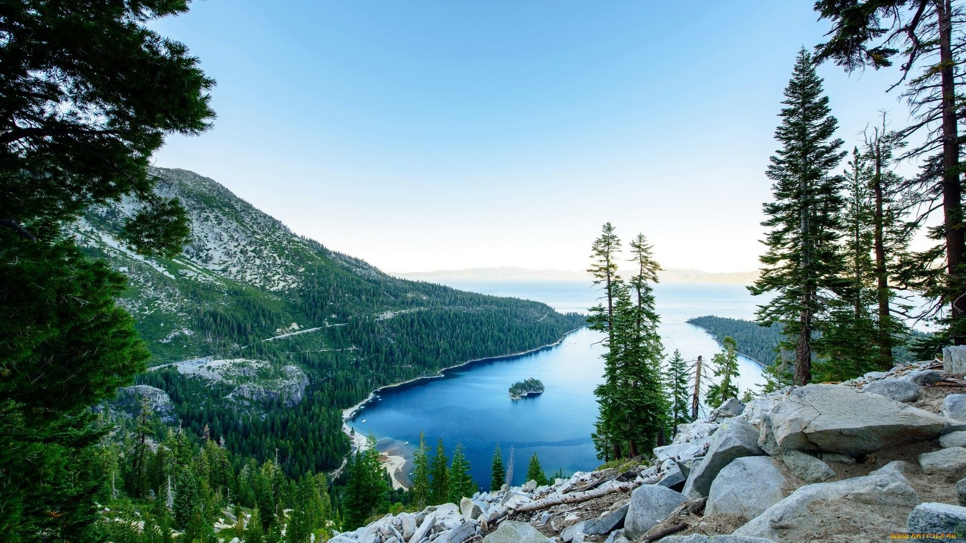 Lake Tahoe desktop wallpaper hd