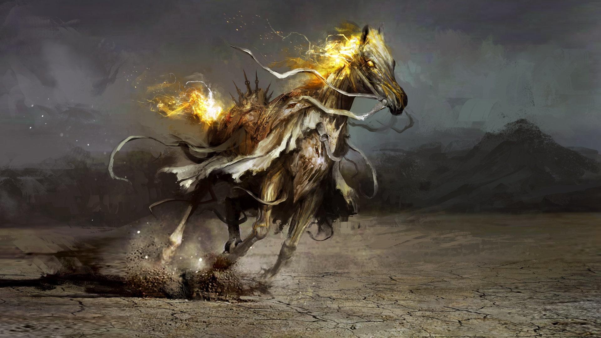 Magic Horses Background