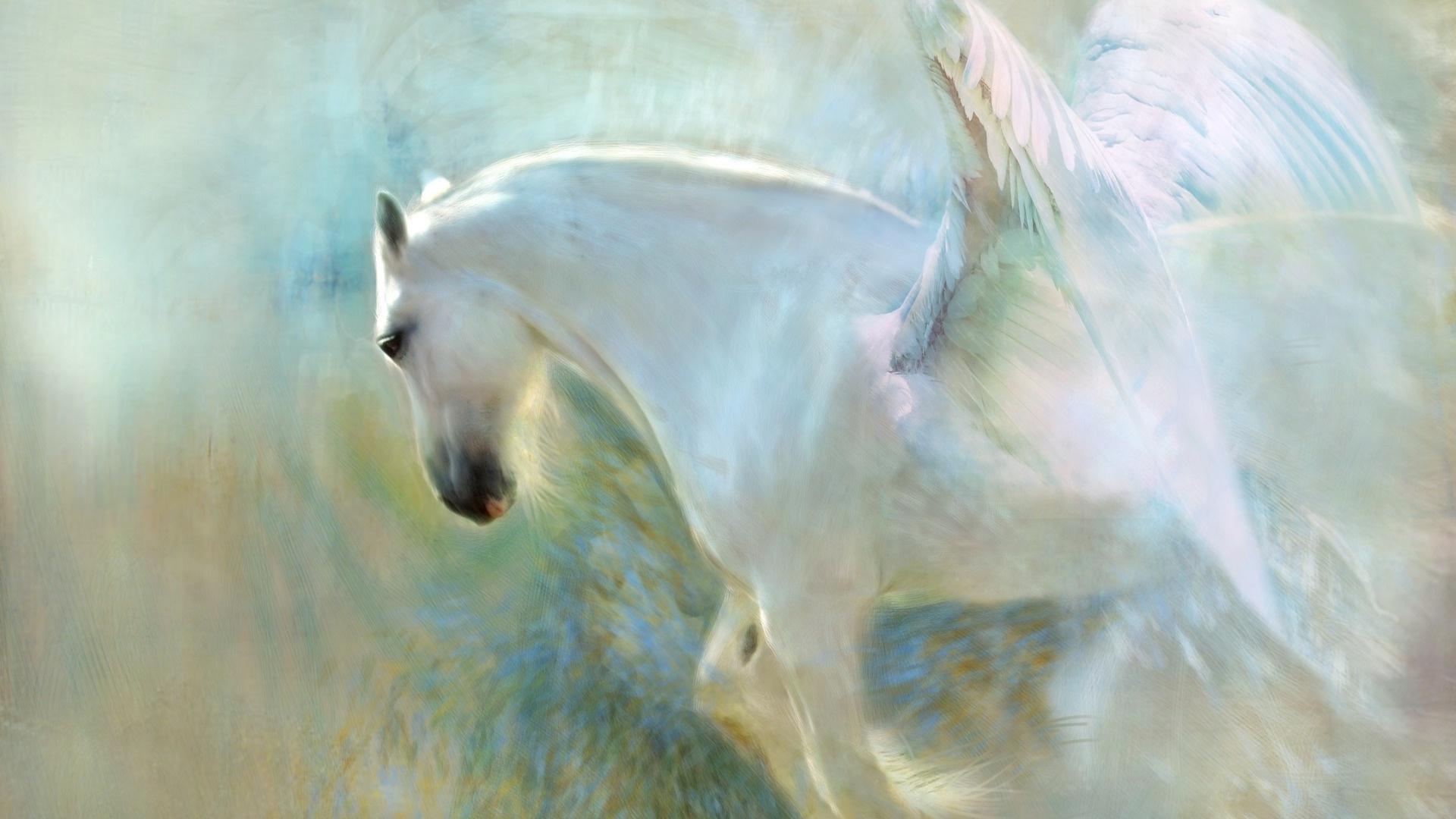 Magic Horses Wallpaper theme