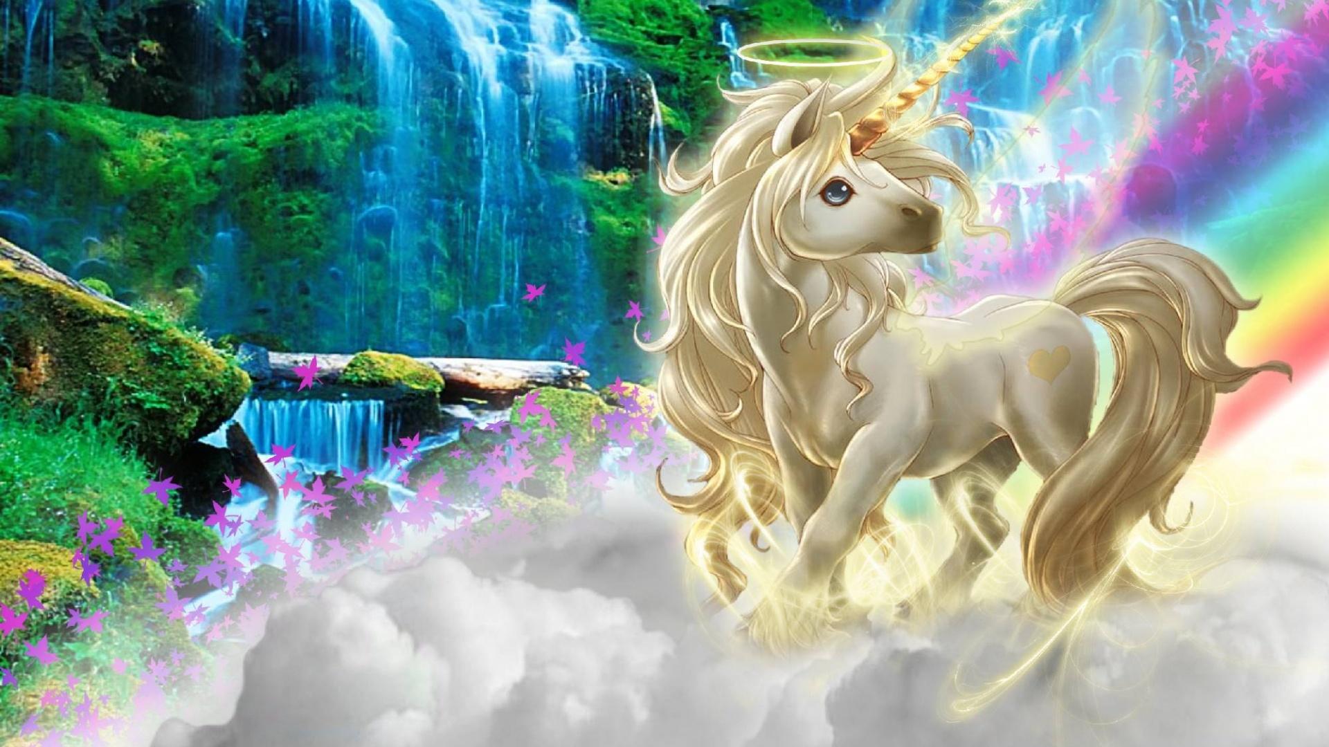 Magic Horses Desktop Wallpaper