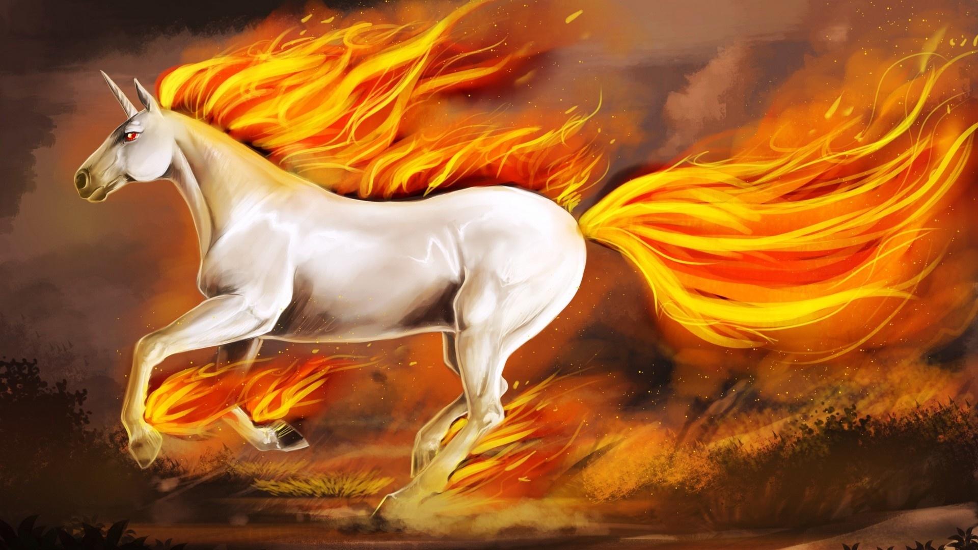 Magic Horses Wallpaper