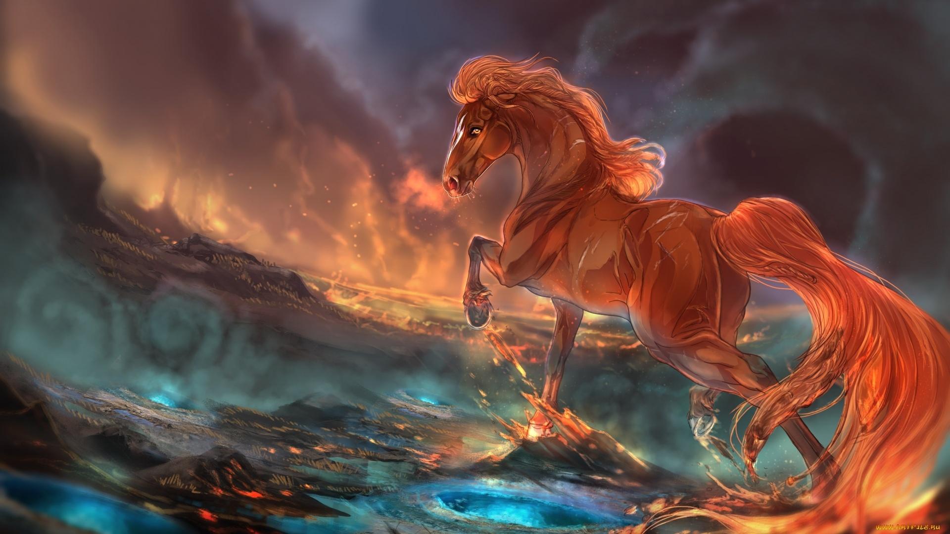 Magic Horses Picture