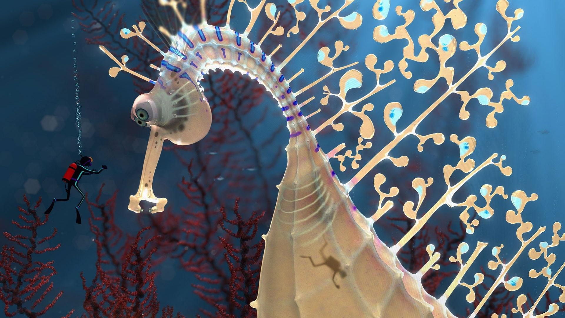 Seahorse Desktop Wallpaper