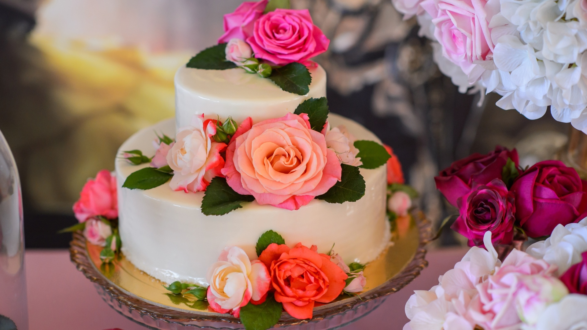 Wedding Cake wallpaper for computer