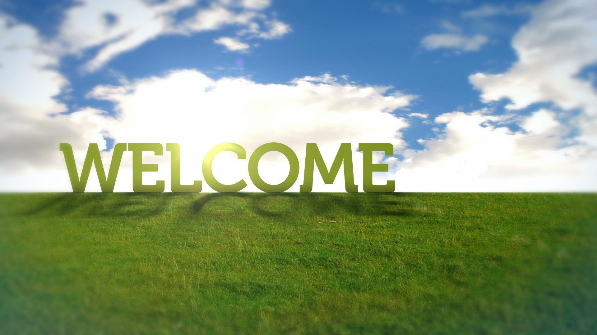Welcome HD Wallpaper