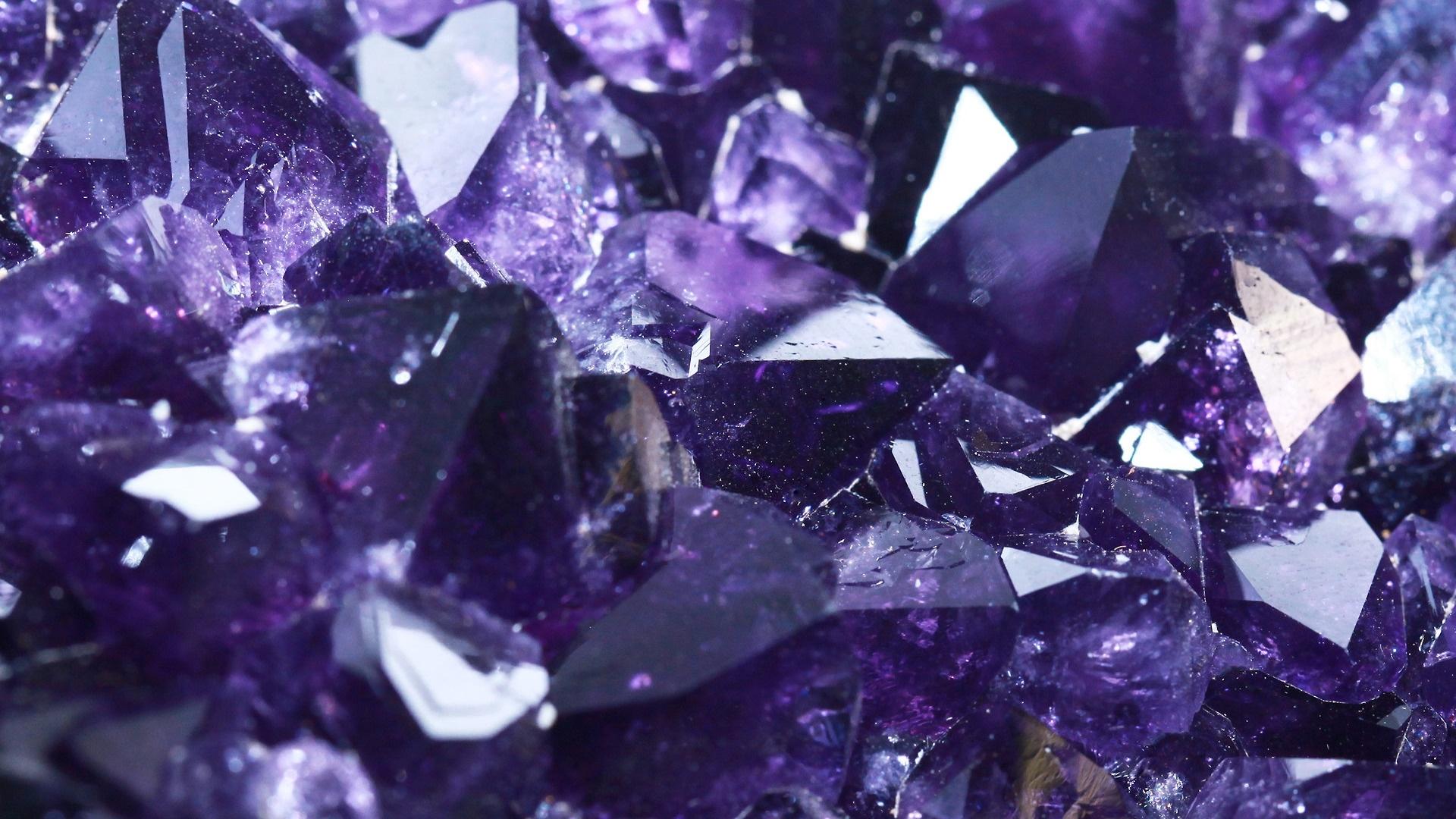 Crystals wallpaper for desktop