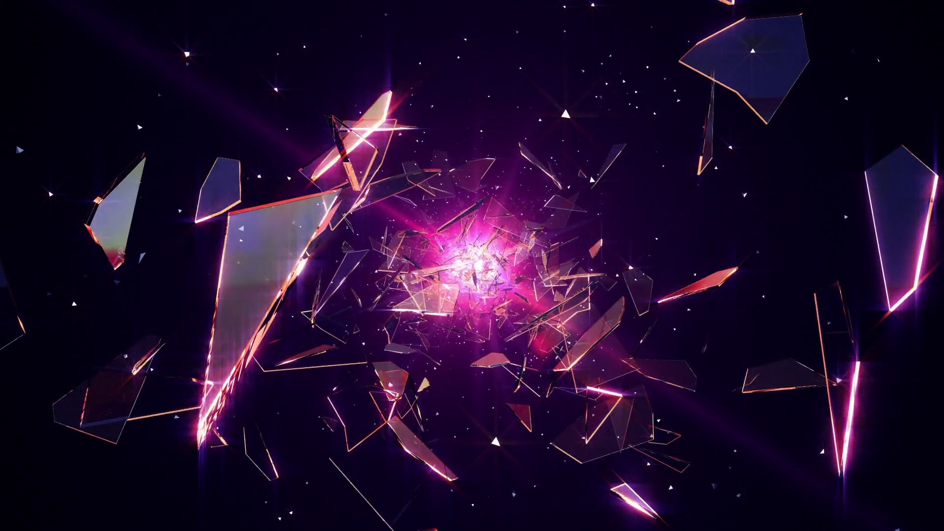 Crystals Background