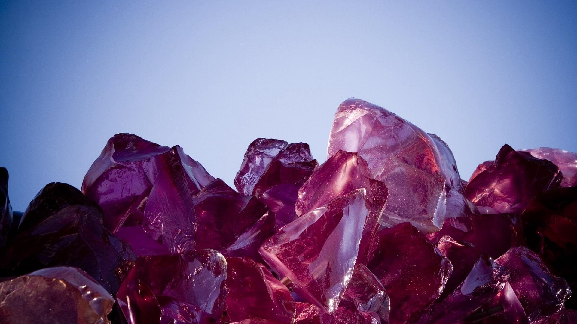 Crystals desktop wallpaper hd
