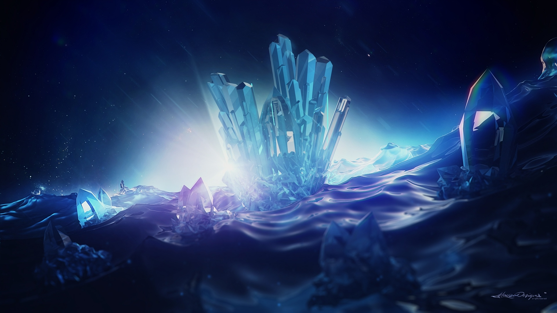 Crystals wallpaper for pc