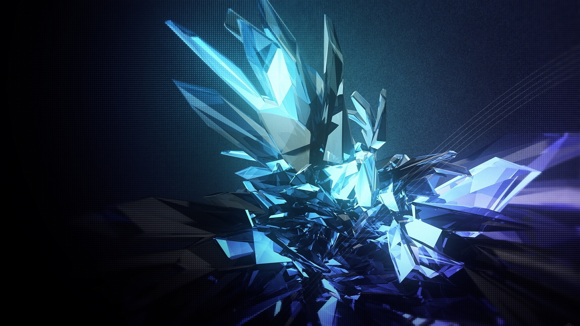 Crystals Wallpaper theme