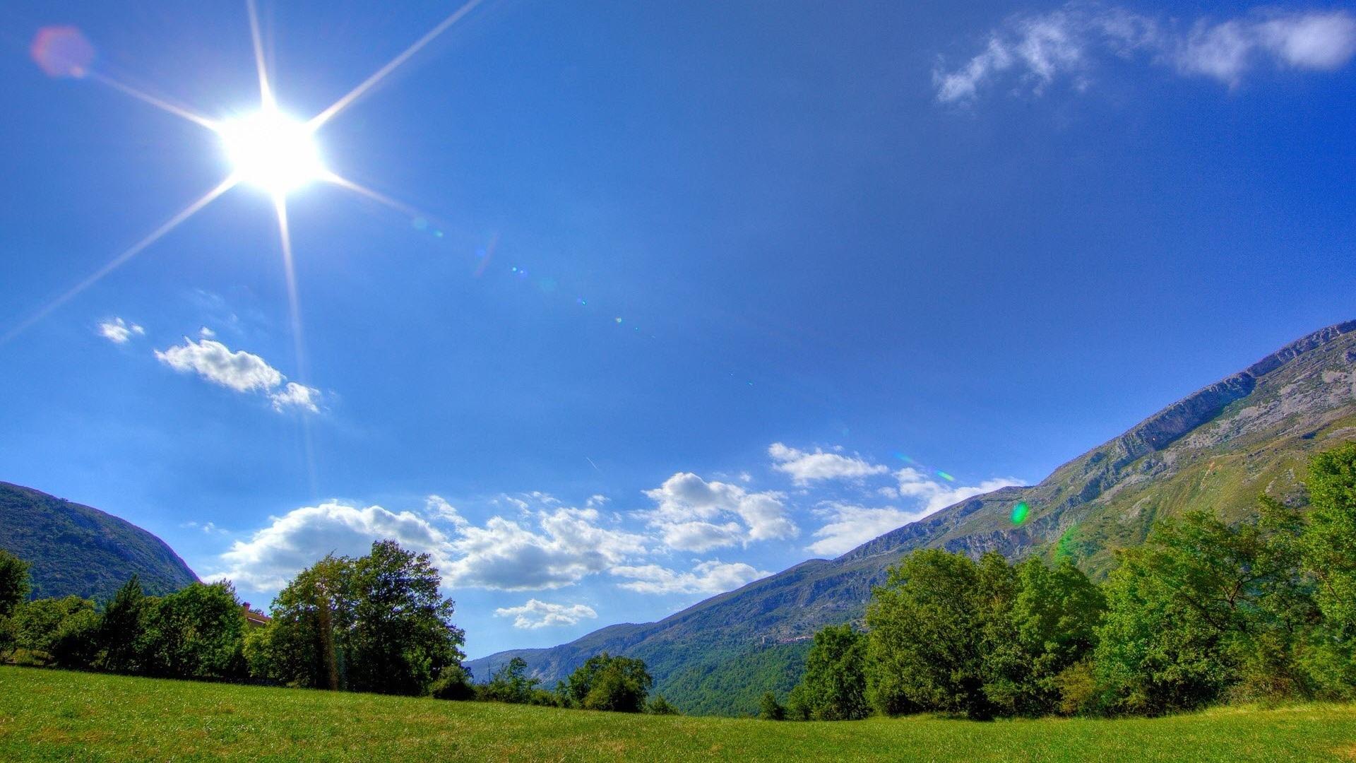 Sunny Day HD Wallpaper