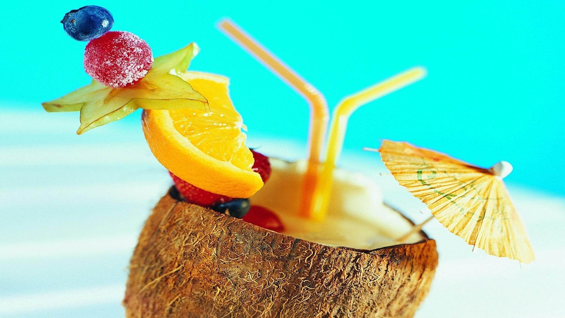 Coconuts By The Sea 1080p wallpaper