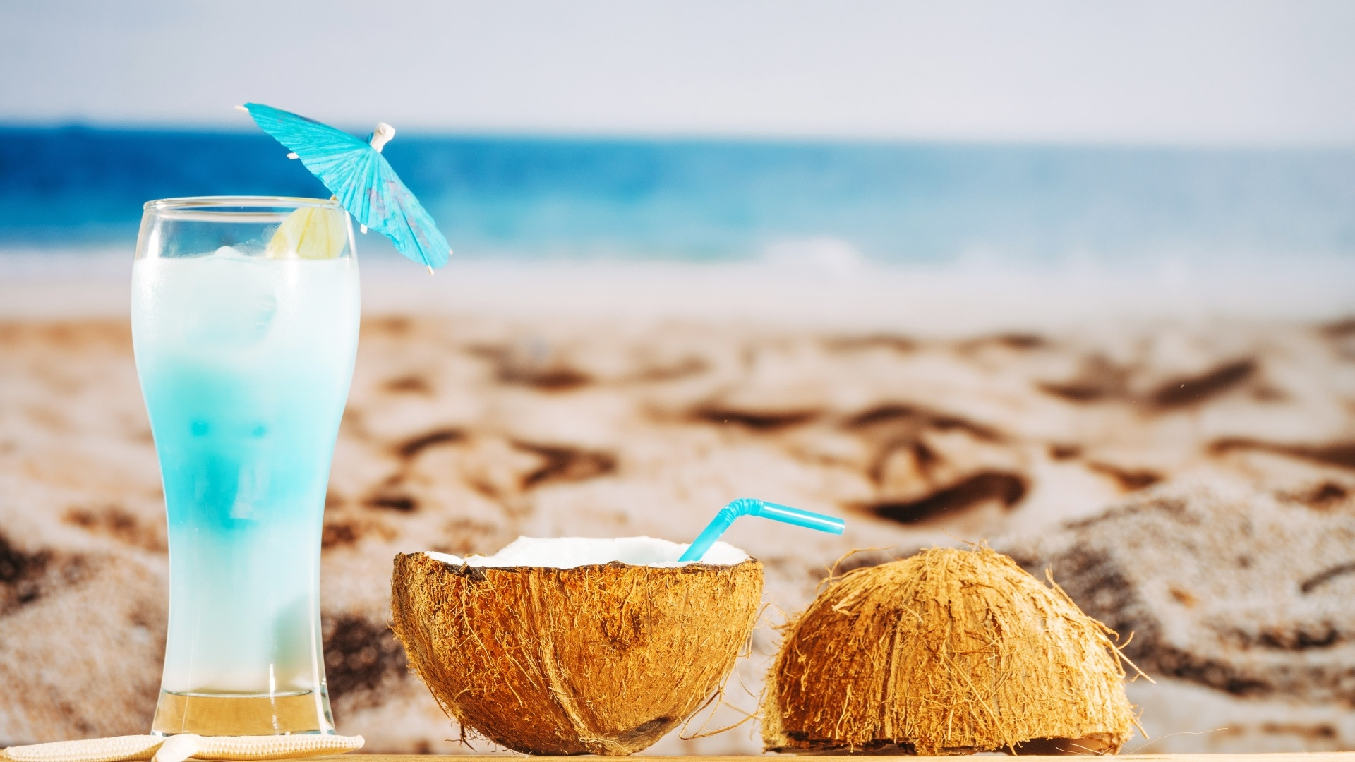 Coconuts By The Sea free image