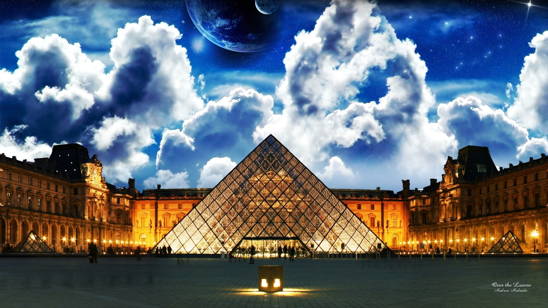 Louvre Museum free image