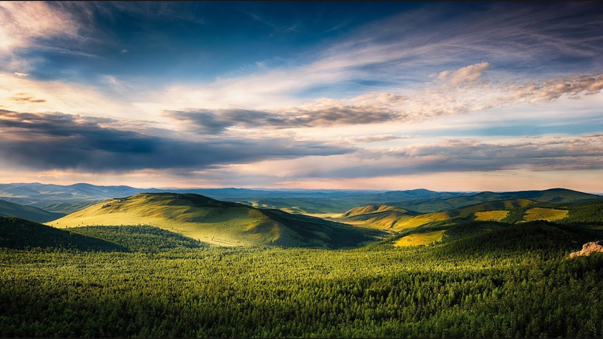 Mongolia Nature free background