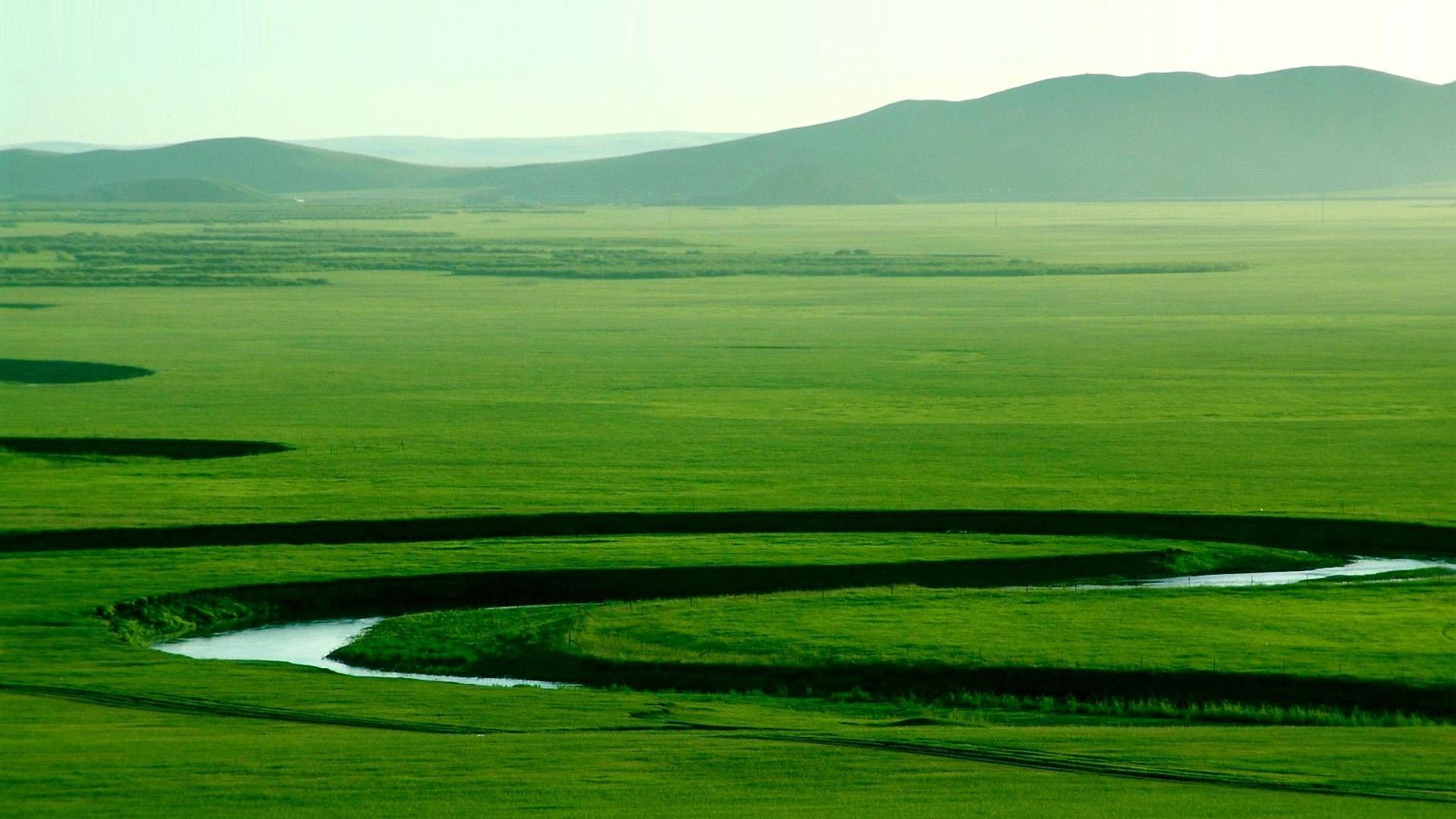 Mongolia Nature computer wallpaper