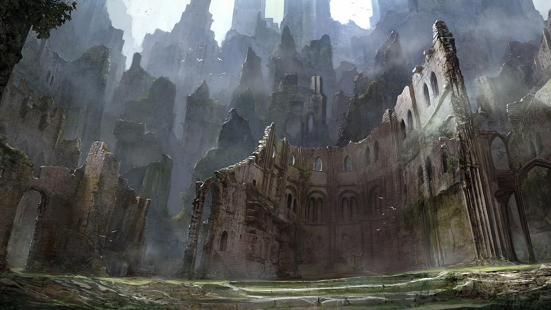 Ruins Art best background